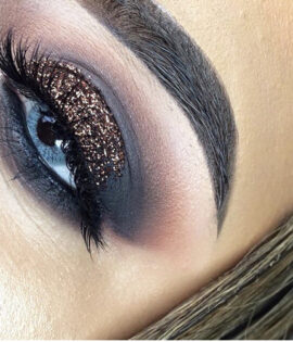 Bronze glitter Unicorn Liquid eyeliner Glitter Girl