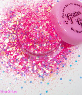 Glitter girl Sugar Heart Eco Glitters