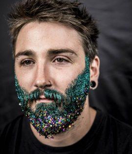 Glitter Beard Kit