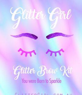 Glitter Girl Glitter Festival Brow Kit