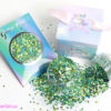 Ivy green glitter