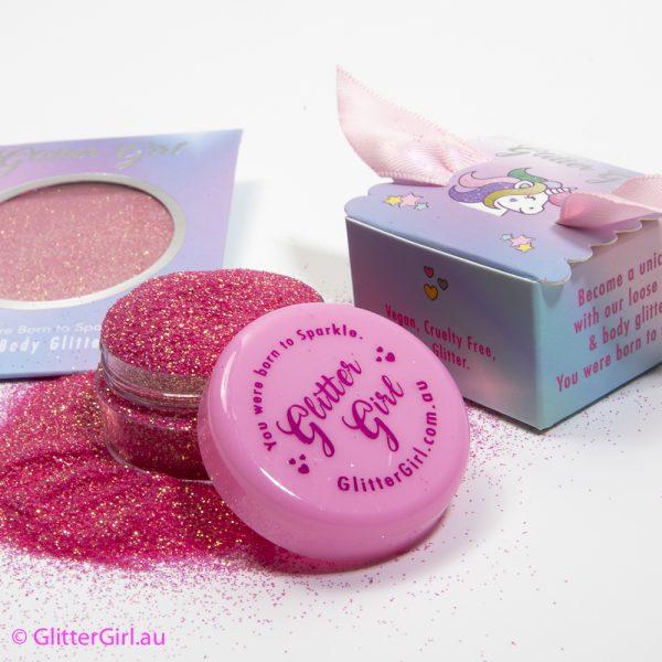 Glitter girl Pink Sparkle Eco Glitters