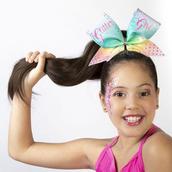 Zero Dust Cheerleading makeup