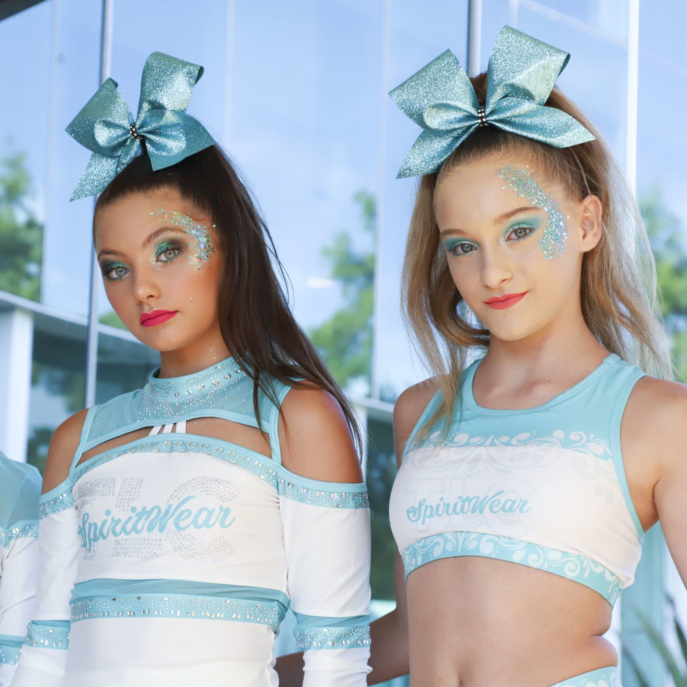 Cheerleading australia makeup supplier