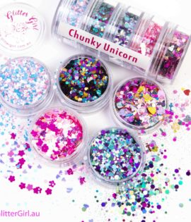 Chunky Unicorn Collection Eco Glitter Glitter Girl Loose Glitter