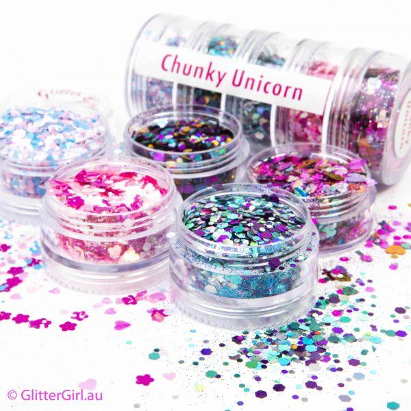 Chunky Unicorn Collection Eco Glitter Glitter Girl Loose Glitter