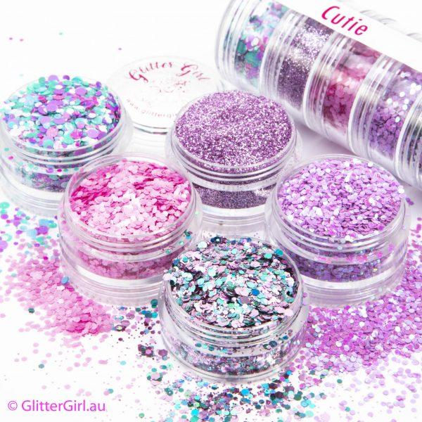 Cutie Collection Eco Glitter Glitter Girl Loose Glitter
