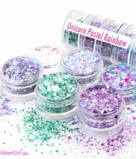 Unicorn Pastel Rainbow Collection Eco Glitter Glitter Girl Loose Glitter