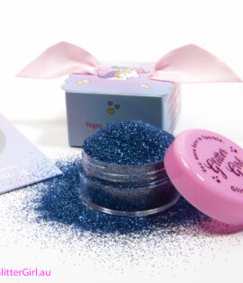 Glitter Girl Eco Glitter Blue Bluebell Gold Coast