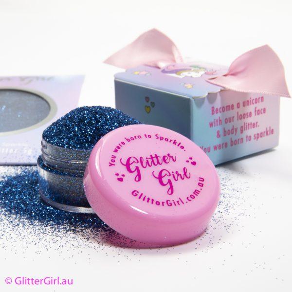 Glitter Girl Eco Glitter Blue Bluebell Gold Coast