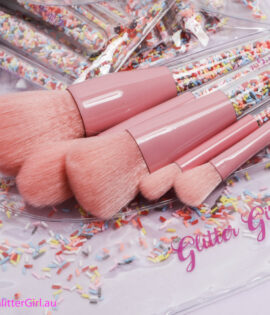 Glitter Girl Sprinkle Makeup Brush Set