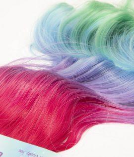 Rainbow Ponytails