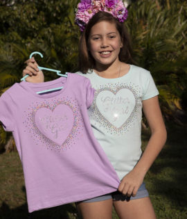 Glitter girl Sparkle T Shirt