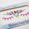 Unicorn Face Gems Funfetti festival fashion