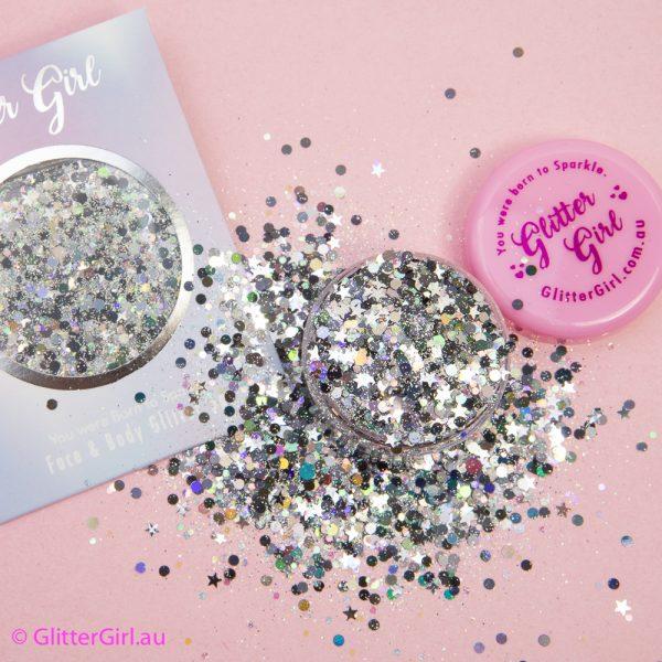 Night Shade Silver Glitter