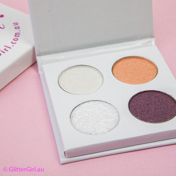 Peach Plum Quad cheer makeup eyeshadow