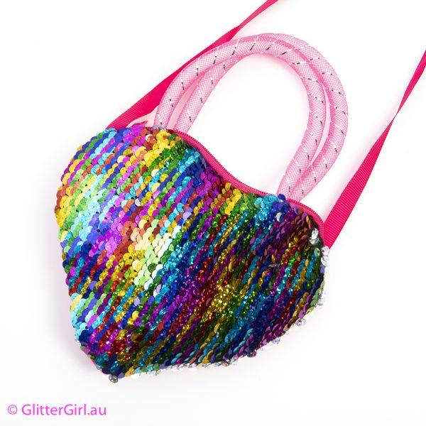 Rainbow Sequin Bag