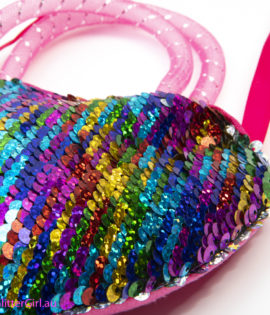 Rainbow Sequin Bag