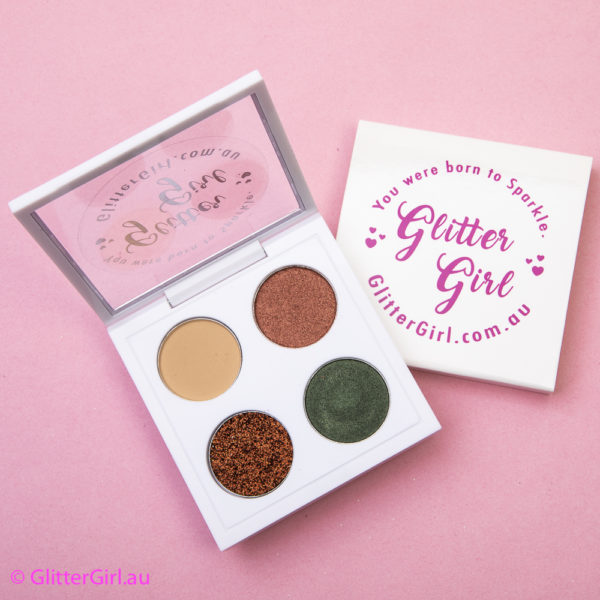 GG Army Queen Palette cheer and dance makeup