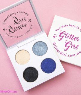 Smokey Blues Palette eyeshadow cheer makeup