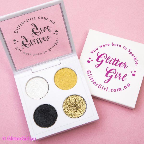 Smokey Gold Palette cheer eyeshadow palette