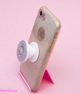 Glitter Girl pop socket