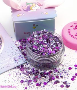 Purple Pantone Eco Glitter