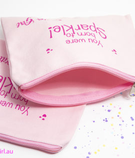 GG Cotton Makeup Bag