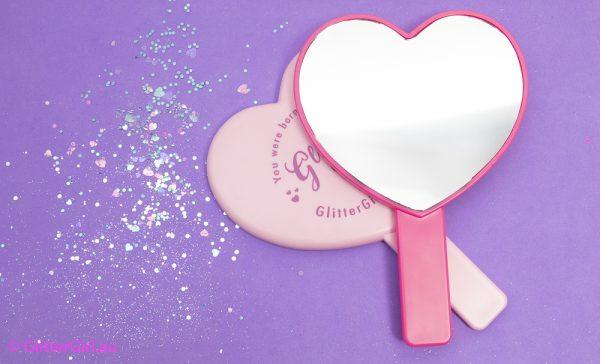 Glitter Girl Makeup Mirror