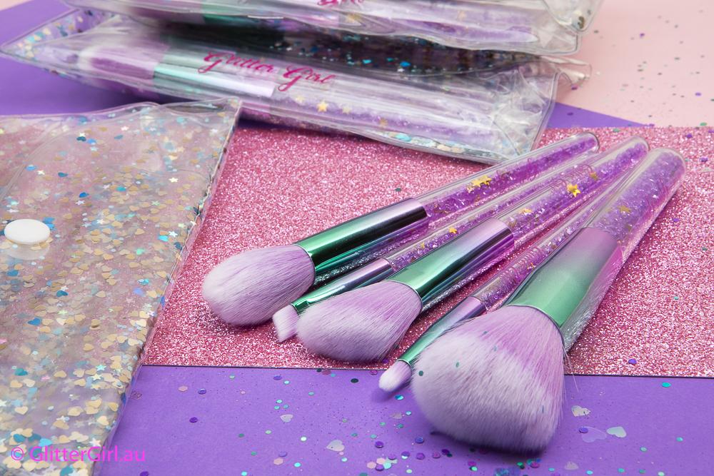 Glitter Girl Sparkle Brush set