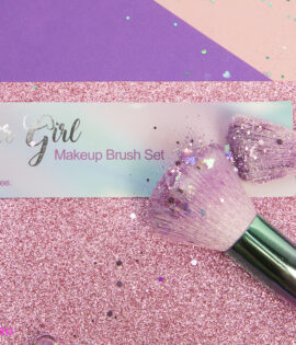 Glitter Girl Sparkle Brush set